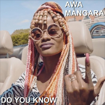 """THE BRAND NEW VIDEO CLIP FOR SINGEL DO YOU KNOW FROM THE 2ND SOLO MUSIC ALBUM """"MA CULTURE"""" PRODUCED IN FRANCE (EUROPE) OF AWA MANGARA SINGER & RAPPER HAS BEEN POSTED ON YOUTUBE ON 12TH OF JULY 2019 – SO CHECK IT OUT RIGHT NOW!!!"""